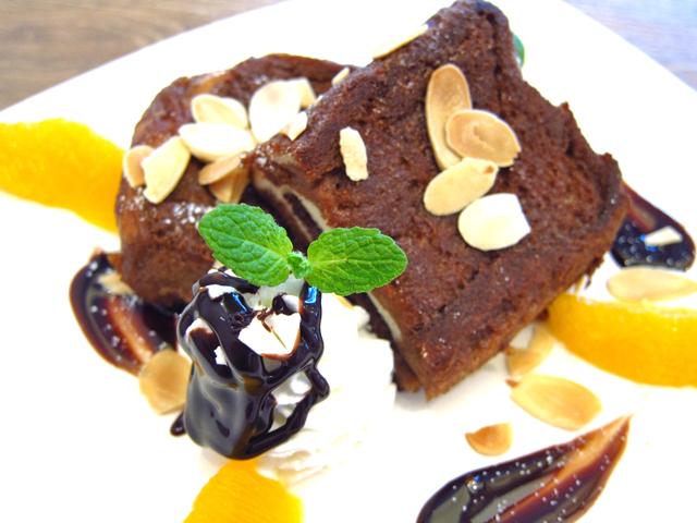 新潟市でチョコレートのフレンチトースト