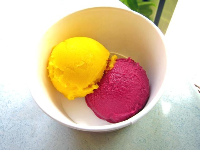 新潟市でアイスクリームのテイクアウト