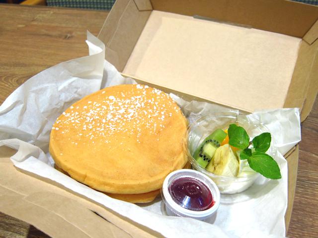 新潟市でパンケーキのテイクアウト